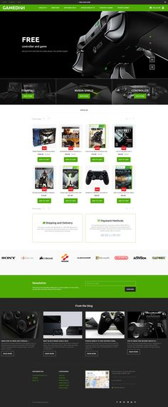 Game Portal Responsive MotoCMS Ecommerce Template #59526 - Love a good success story? Learn how I went from zero to 1 million in sales in 5 months with an e-commerce store.