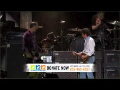 Paul McCartney & Nirvana 12.12.12. Sandy Relief Concert HD  Ummm Beatles frontman taking Kurt's place with Nirvana...pinch me