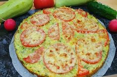 Dumplings, Vegetable Recipes, Avocado Toast, Quiche, Zucchini, Food And Drink, Low Carb, Pizza, Dining