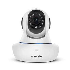 Wifi IP Home Security Camera – Pets and Baby Monitor, Free App, for Indoor Surveillance, including 2 Way Audio, 15 Preset Position, Night Vision, Motion Alarm, 4 Privacy Encryption, 1 Year Warranty