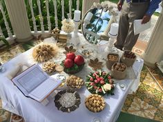 Destination wedding rustic chic inspired Persian wedding ceremony spread. Sofreh aghd.