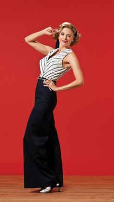 """Always-dazzling, Tony-winning Sutton Foster, seen here in """"Anything Goes."""""""