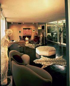 Philip Johnson Menil House 1964