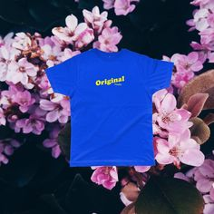 Spring is nature's way of saying let's party. The Retro TEE, available online now - link in bio!Organic Tee - Minimalistic Design. Eco-Friendly - Equality- Premium 100% Organic Tee
