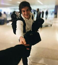 Imagine travelling with Ethan