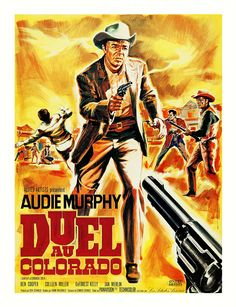 film poster art Gunfight At Commanche Creek Films Western, Cowboy Films, Old Western Movies, Indie Movies, Old Movies, Kingston, Crime, Old Movie Posters, Tv Westerns