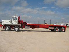 """486"""" Wheel Base Western Star Oilfield Truck Show Trucks, Mack Trucks, Old Trucks, Tonka Trucks, Heavy Duty Trucks, Heavy Truck, Custom Big Rigs, Custom Trucks, Oilfield Trash"""