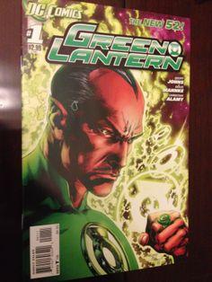 Green Lantern 1,1(ERROR),2 (First Prints, DC Comics), New 52, LOOK!