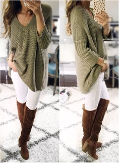 Fall cozy casual: Ov