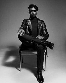 Killmongers new photoshoot as BLACK PANTHER. #LongLiveHueyPNewton