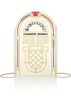 Charlotte Olympia clutch, $172.50  (more from the Net-a-Porter clearance sale -- http://chicityfashion.com/net-a-porter-sale-clearance/)