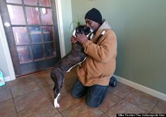 "Homeless Man Who Refused To Leave His Dog During Below-Zero Temperatures Gets Shelter For Pup | HuffPost | ""Even in frigid weather conditions, this homeless man wouldn't leave his beloved best friend."" Click to read and share this wonderful article."