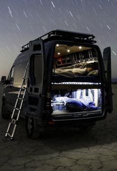 Of Life - Camper, Camping - Camping Car Van, Camping Klo, Petit Camping Car, Motorcycle Camping, Custom Camper Vans, Custom Campers, Vintage Campers, Rv Campers, Sprinter Van Conversion