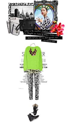"""Neon Jumpers"" by hevuhz ❤ liked on Polyvore"