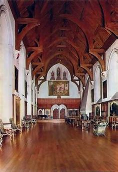 Cainewood Castle (inspired by Arundel Castle) -- the great hall, where the Chase family celebrates Christmas. Arundel Castle, Ancient Buildings, Beautiful Castles, England And Scotland, Gothic House, Gothic Architecture, Historical Romance, Places Around The World, The Good Place