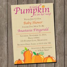 Fall baby shower invitation pumpkin shabby chic burlap gender fall baby shower invitation pumpkin shabby chic burlap gender neutral autumn fall theme rustic printable or printed with free shipping 95 baby shower filmwisefo