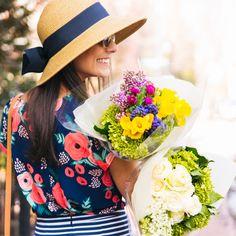 Toucan Hats- Packable Wide Bow Sunhat. http://tnuck.com