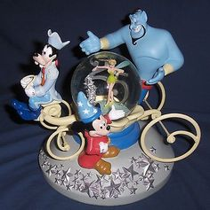 25th anniversary. Disney snow globe