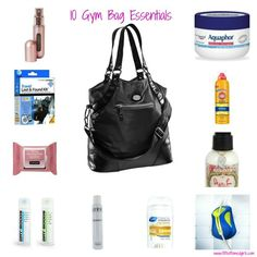 10 gym bag essentials we stuffed into our super cute bag! | Fit Bottomed Girls