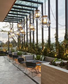 Bar Design Restaurant Lounge 28 is part of - Bar Design Restaurant Lounge 28 Design Hotel, Design Café, Lounge Design, Deco Design, Design Trends, Terrace Design, Patio Design, Rooftop Design, Design Styles