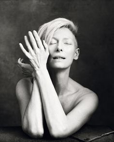 Tilda Swinton, photographed by Norman Jean Roy for New York Magazine, April 7, 2014. (click the image for EXTREMELY high-res photo.)
