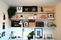 The Fifthhouse blog; A tiny peek inside my own home. #blog #shelving #interior #decorating