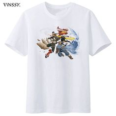 Cheap t shirt men, Buy Quality t shirt directly from China legend of korra Suppliers: legend of korra Group Cartoon T shirt men free shipping