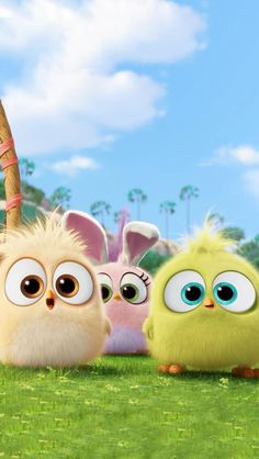 The Angry Birds Movie: See the Hatchlings in Easter-Themed Clip Easter Wallpaper, Cute Wallpaper For Phone, Bird Wallpaper, Emoji Wallpaper, Cute Disney Wallpaper, Cute Cartoon Wallpapers, Cute Wallpaper Backgrounds, Cartoon Pics, Mobile Wallpaper