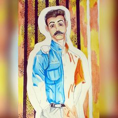 Pornstache ~ Mendez ~ Officer oitnb cartoon anime fanart ~ colored pencil and black ink Me Anime, Orange Is The New Black, Real People, Caricature, Insta Art, Colored Pencils, Fanart, Princess Zelda, Ink