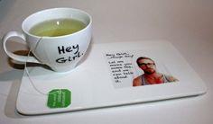 Ryan Gosling Hey Girl inspired Tea Set/Geekery/Humor/Tea Gift Set/Gift under 30/Tea for One. $28.00, via Etsy.
