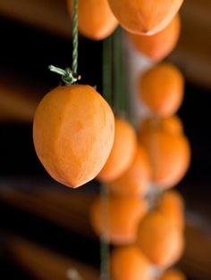dried persimmons   Flickr - Photo Sharing!