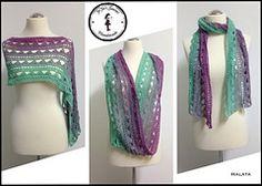 (US and UK) Der Schal kann beliebig lang und breit gehäkelt werden. Ich habe ihn zum Schluss zu einem Loop zusammen genäht.