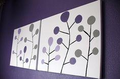 paint chip modern art #modern #canvas