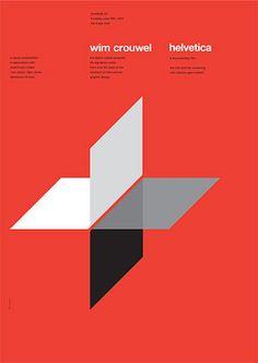 Helvetic Poster — Wim Crouwel