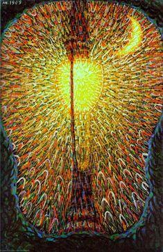 La lampe à arc (ou Le réverbère) Giacomo Balla MOMA Italian Painters, Italian Artist, Light Painting, Rome Painting, Giacomo Balla, Italian Futurism, Futurism Art, Street Lamp, Museum Of Modern Art