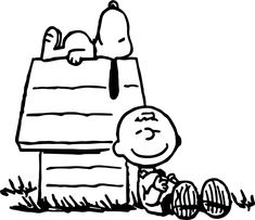 nice Snoopy Charlie Brown Peanuts Coloring Pages