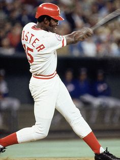 George Foster, Cincinnati Reds, the final piece to the Big Red Machine.
