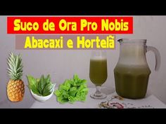 Suco de Ora Pro Nobis + Abacaxi e Hortelã - YouTube Tableware, Youtube, Diet Recipes, Easy Keto Recipes, Pineapple Juice, Vitamins And Minerals, Healthy Tips, Liqueurs, Dinnerware