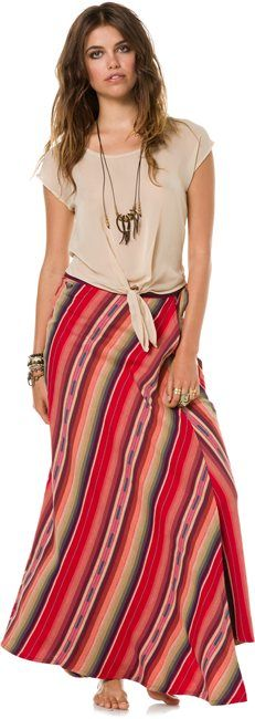 ROXY MELLOW MYSTIQUE SKIRT > Womens > Clothing > Skirts | Swell.com