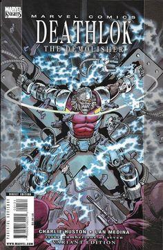 Marvel Deathlok comic issue 1 Limited variant