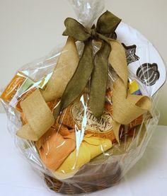 Autumn Basket for Bakers - for auction online starting November 10, 7pm.