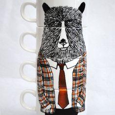 Fancy - Mr Georgraphy Teacher Espresso Cup Set