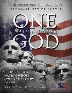 National Day of Prayer Poster