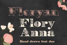 New free font 'Flory' by EvasUniqueFonts · Free for personal use · #freefont #font #freefont