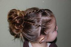 Adorable ideas for little girls hair.