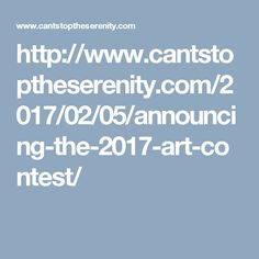 The 2017 art contest is now open! Will your design join all these others? http://www.cantstoptheserenity.com/2017/02/05/announcing-the-2017-art-contest/