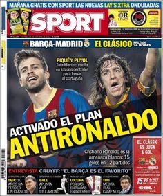 Los Titulares y Portadas de Noticias Destacadas Españolas del 25 de Octubre de 2013 del Diario Sport ¿Que le pareció esta Portada de este Diario Español?