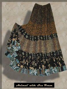 Anna Konya gypsy style skirt