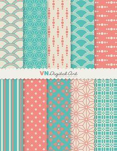 Digital Paper Japanese Style Digital Scrapbook by VNdigitalart  https://www.etsy.com/listing/64735015/digital-paper-japanese-style-digital?ref=shop_home_active_17