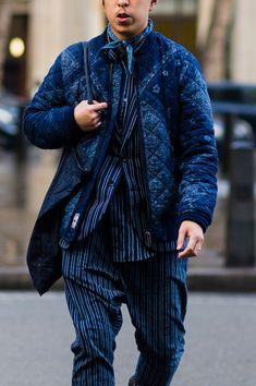 See the Best Street Style From London Fashion Week Men's Cool Street Fashion, Trendy Fashion, Men's Fashion, Fashion Weeks, Fashion Spring, Street Chic, Milan Fashion, Fashion Outfits, Ioi Doyeon